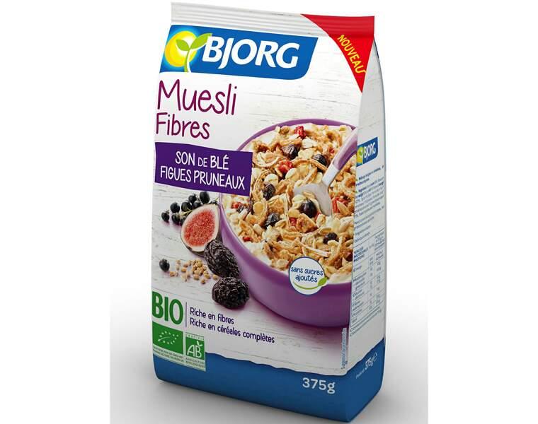 Bjorg - Muesli fibres, son de blé, figues, pruneaux