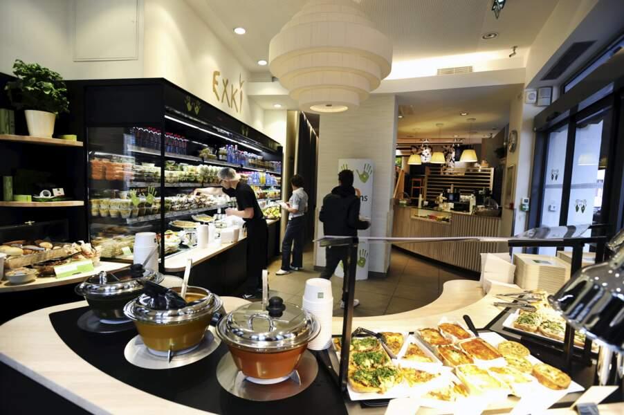 Haut de gamme et bio diversité : cuisine du jour influencée par l'Asie pour la chaîne belge Exki