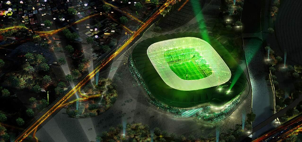 Bursa (Turquie) : un stade en forme de crocodile!
