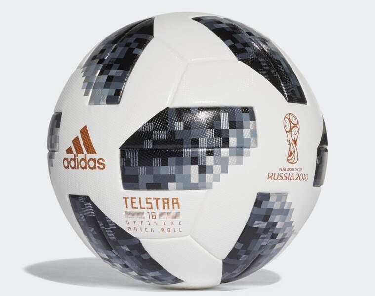 Le ballon du Mondial 2018 : l'Adidas Telstar 18