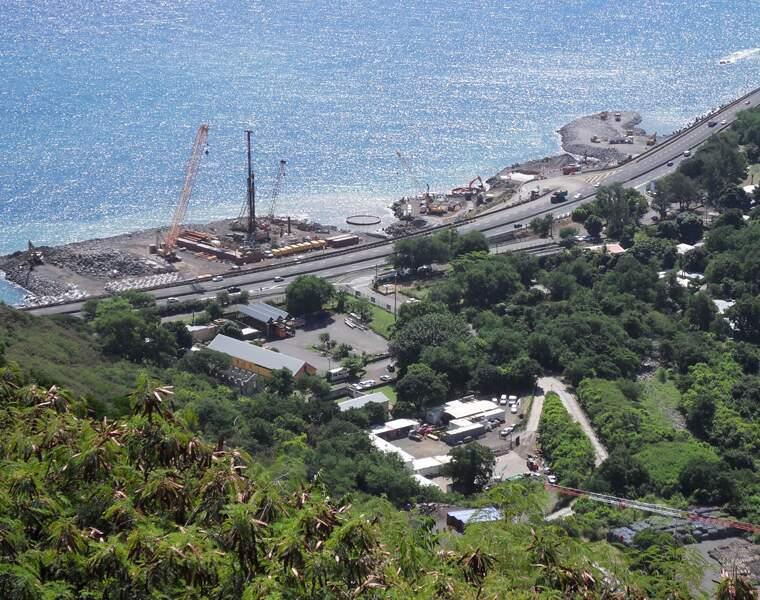 La nouvelle route du littoral à la Réunion : 1,66 milliard d'euros