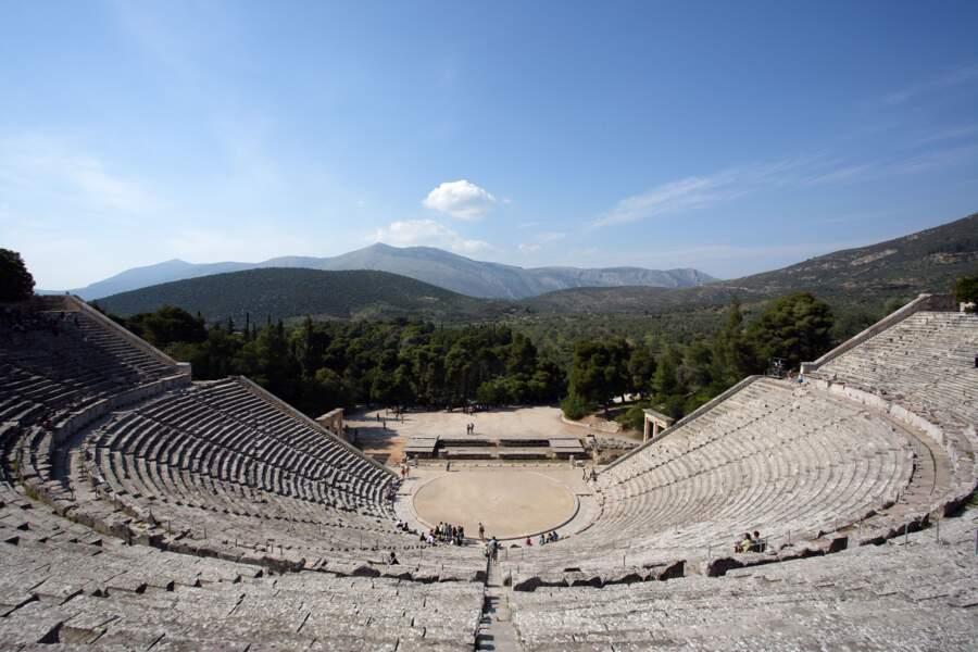 Théâtre d'Epidaure - Un son parfait sans aucun besoin d'amplification
