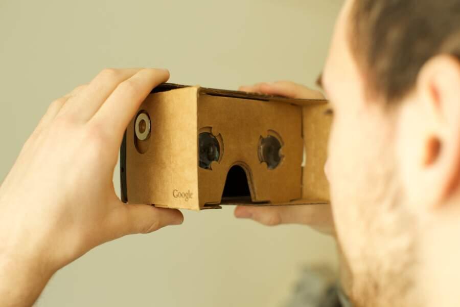 Google Cardboard : la réalité virtuelle pour tous les portefeuilles