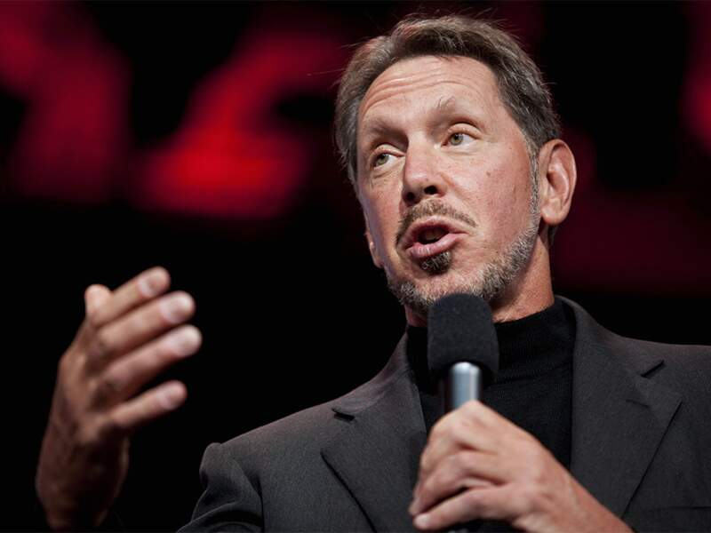 Larry Ellison, Oracle : ses logiciels ont fait de lui le cinquième homme le plus riche du monde
