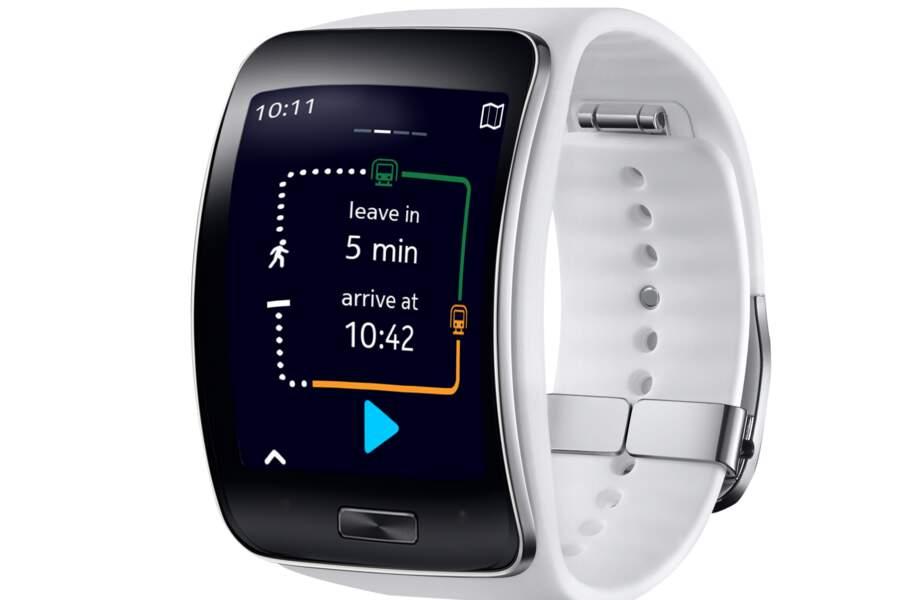 Samsung Gear S : la plus geek
