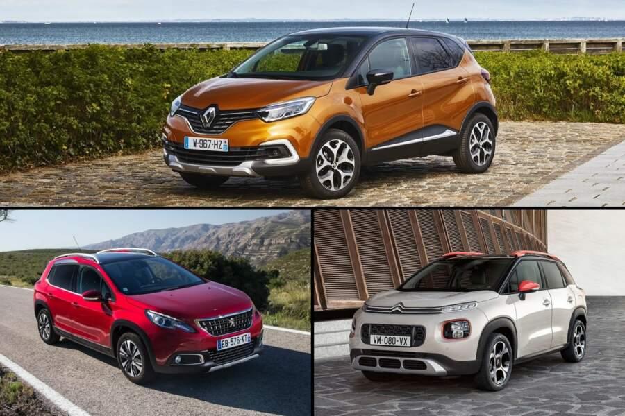 Les principaux concurrents du Volkswagen T-Cross en France