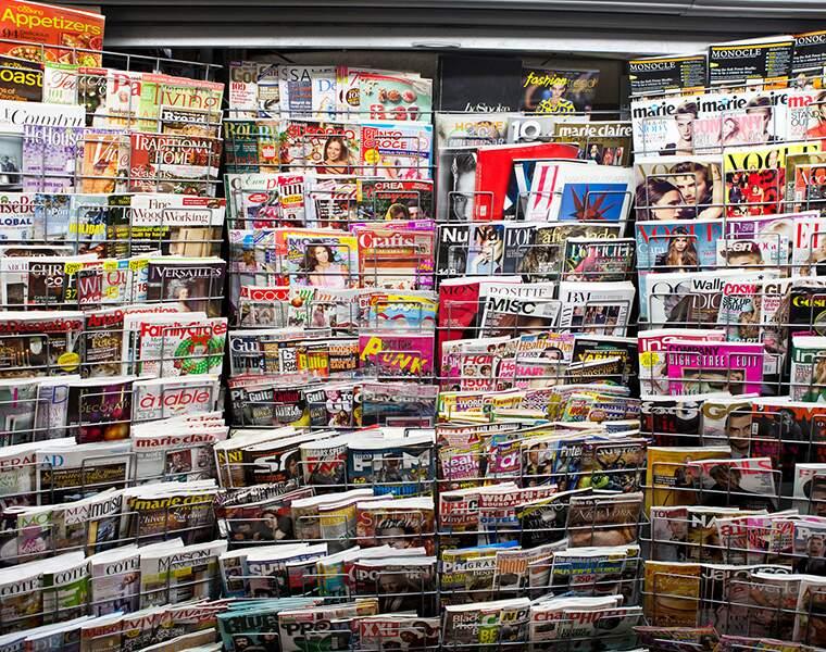 Les vendeurs de journaux : -28%