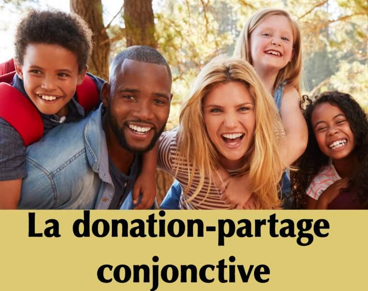 Donation-partage conjonctive : ils profiteront ainsi des biens communs au couple