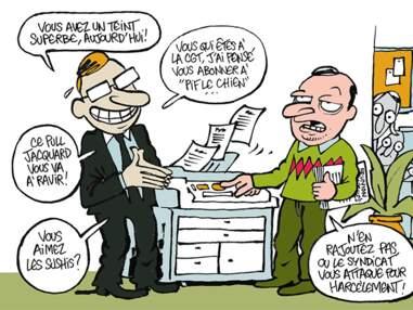 Le management et la philo caricaturés par les dessinateurs de Charlie Hebdo