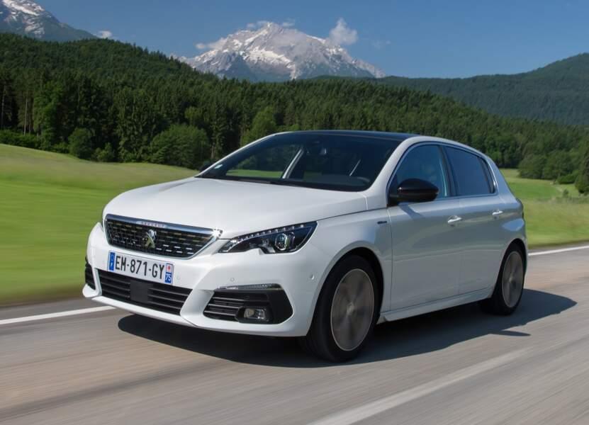 8 - Peugeot 308 (5.130 ventes)
