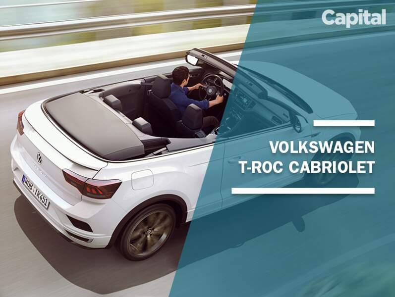 Le Volkswagen T-Roc devient cabriolet