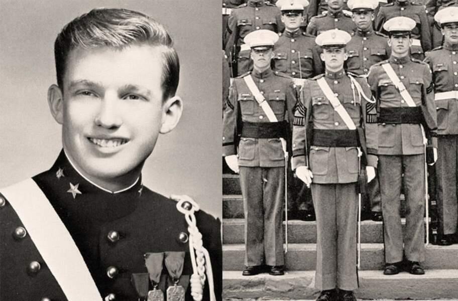 """Trump : un """"Fils de"""" à l'éducation militaire"""