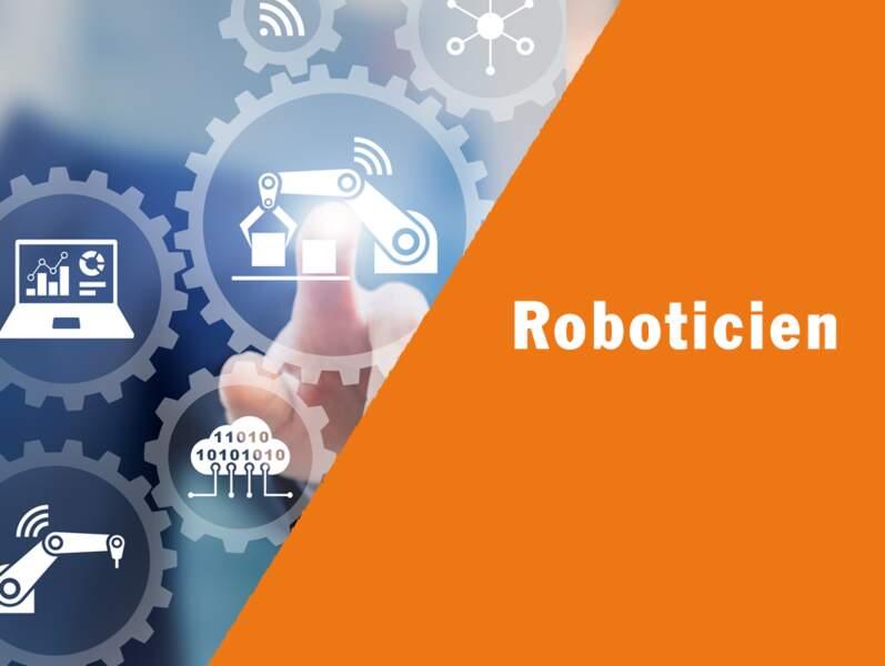 Roboticien - Il optimise l'automatisation des usines