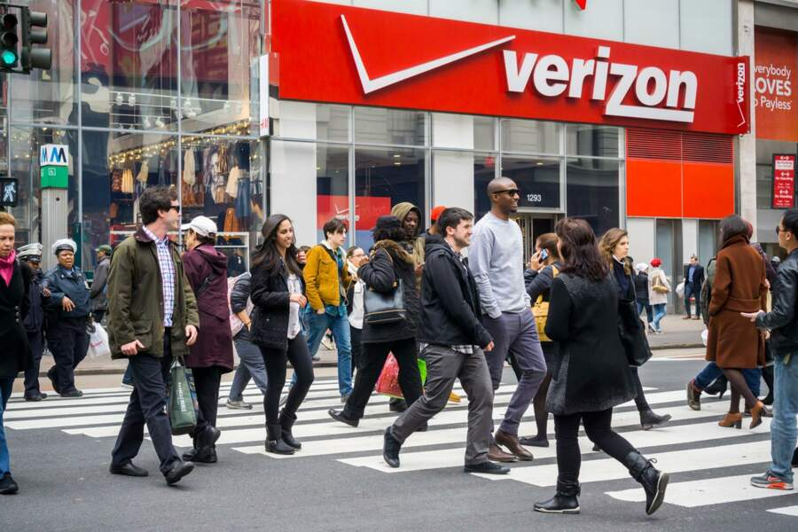 3. Verizon Communications - Cellco (Verizon Wireless) : 130,3 milliards de dollars