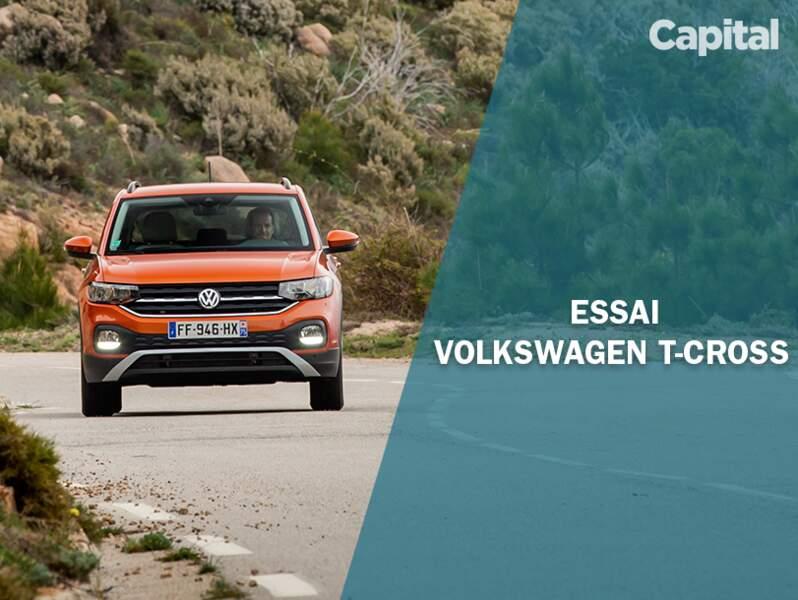 Essai du Volkswagen T-Cross TSI 115 Lounge