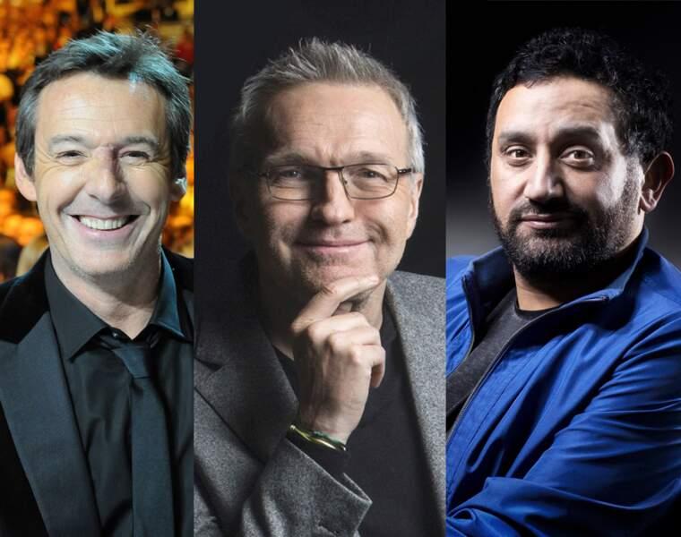 Michel Drucker et Claire Chazal à la peine, Nagui et Jean-Luc Reichmann au sommet : notre classement exclusif