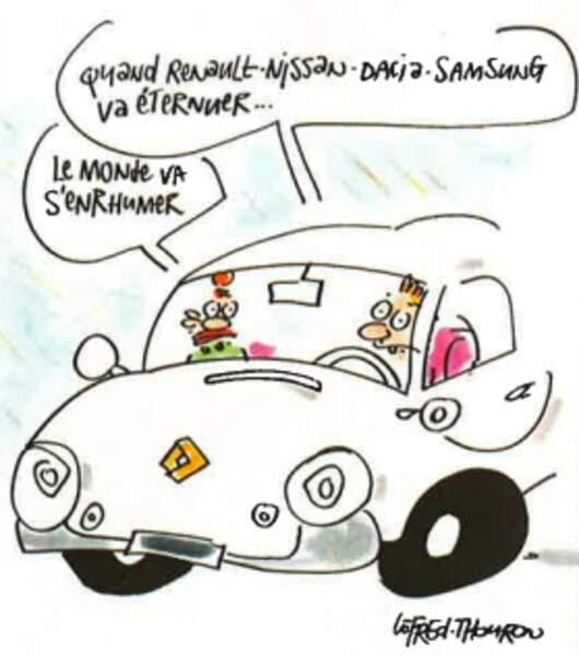 Après Nissan et Dacia, Renault s'empare des activités automobiles de Samsung (mars 2000)