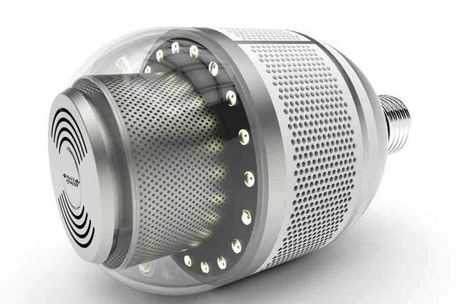 Bell & Wyson : l'ampoule qui fait office de pompier