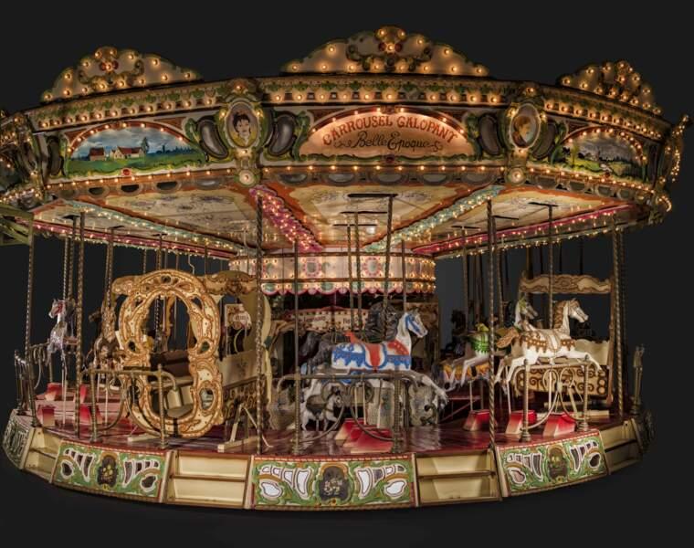 Carrousel des années 1900