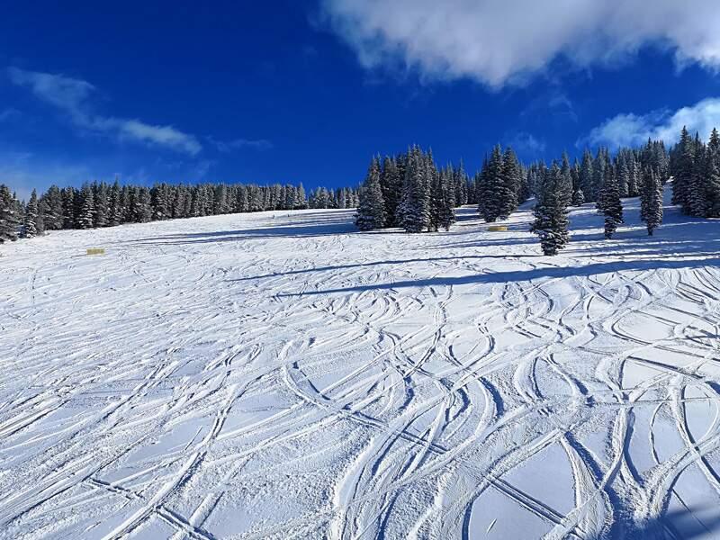 Vacances au ski… sans skier