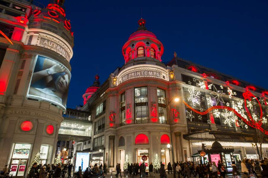 Le grand magasin Printemps Haussmann