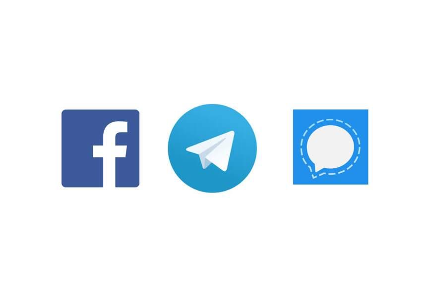 Facebook, Telegram et Signal : les cryptos des messageries sécurisées