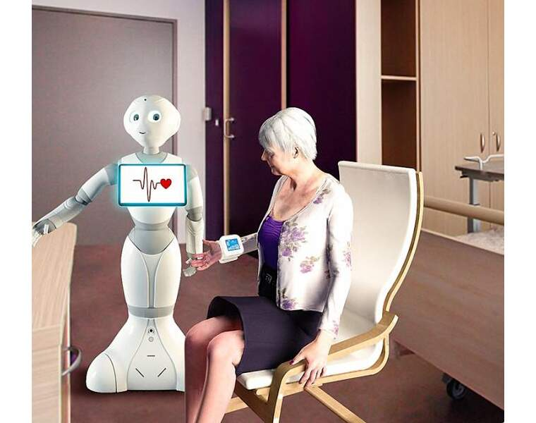 Un robot assistant prendra soin des patients