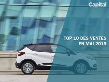 Les 10 voitures les plus vendues en France en mai 2019