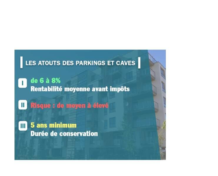 Les atouts des parkings et caves