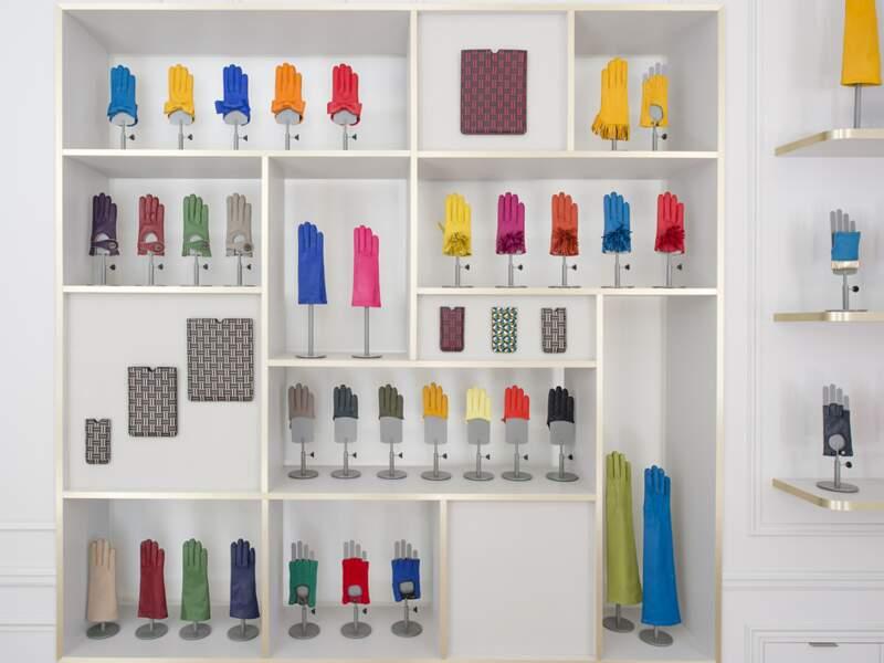 Maison Fabre : Des gants haute couture en vison ou crocodile