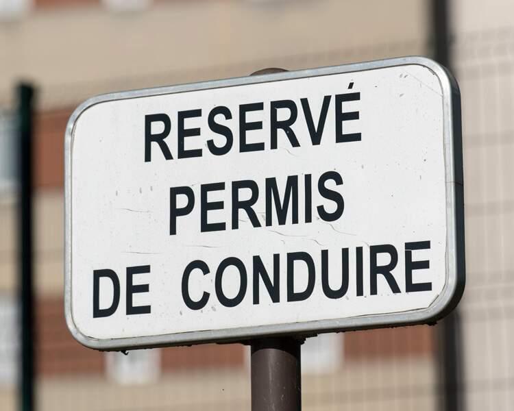Le retrait de permis de conduire