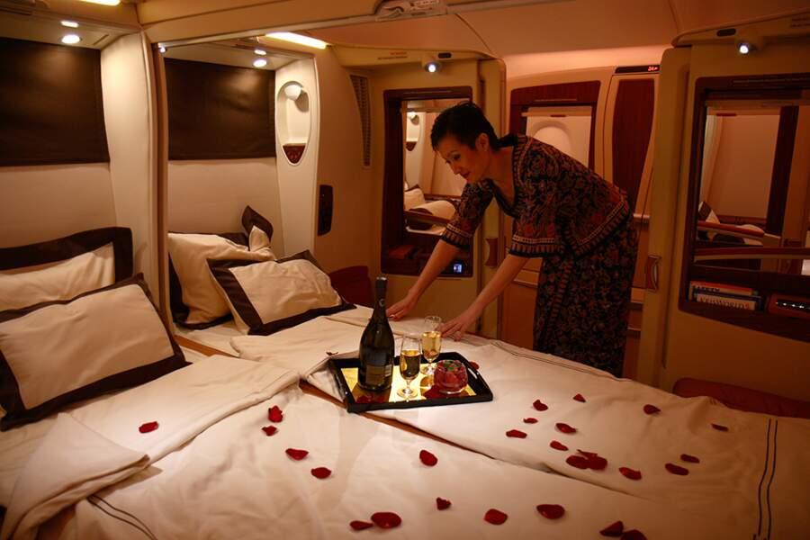 Singapore Airlines, le rêve à deux en suite double