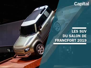Les nouveaux SUV dévoilés au salon de Francfort 2019