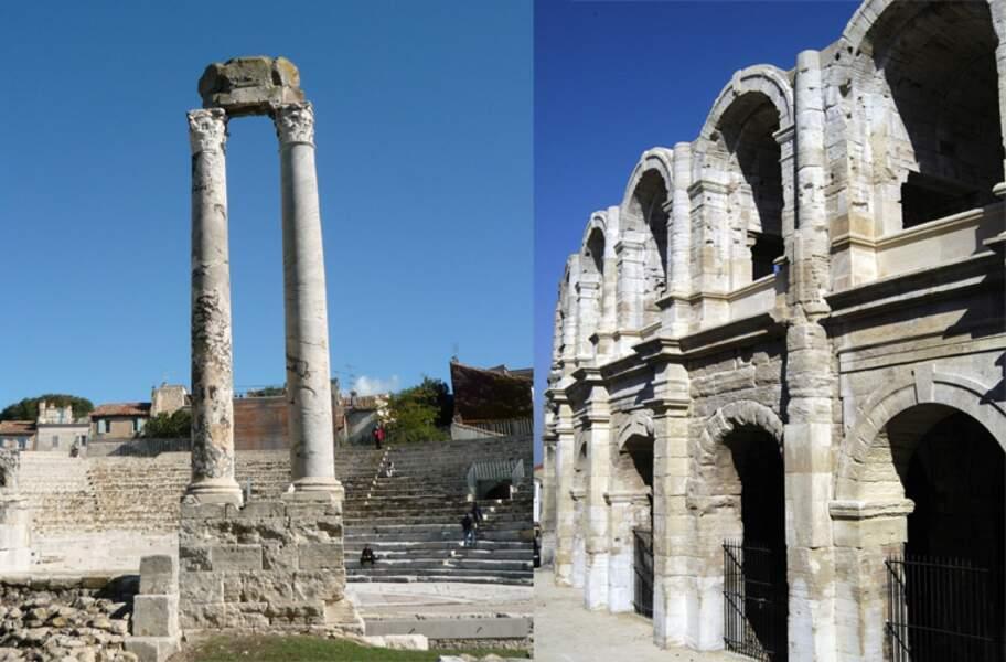 Les monuments romains et romans d'Arles