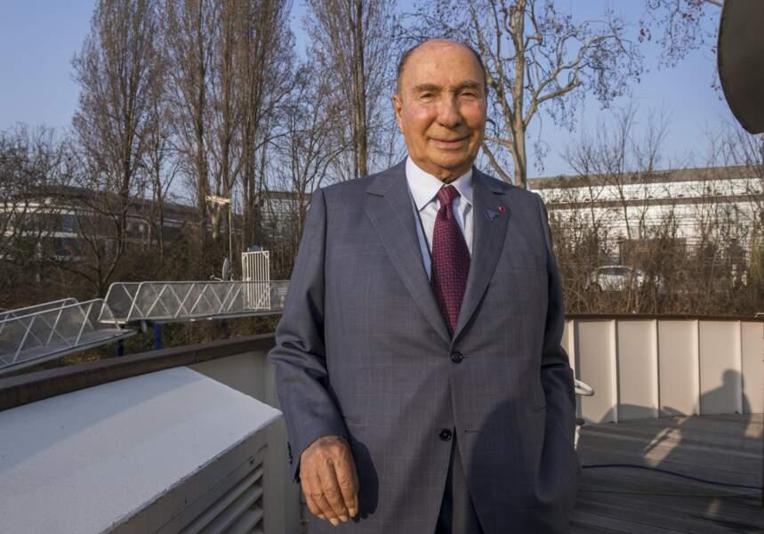 6. Serge Dassault (Dassault)