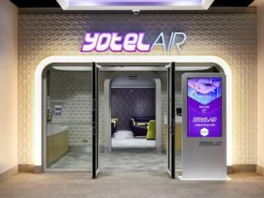 YotelAir, l'hôtel qui veut révolutionner votre nuit à l'aéroport