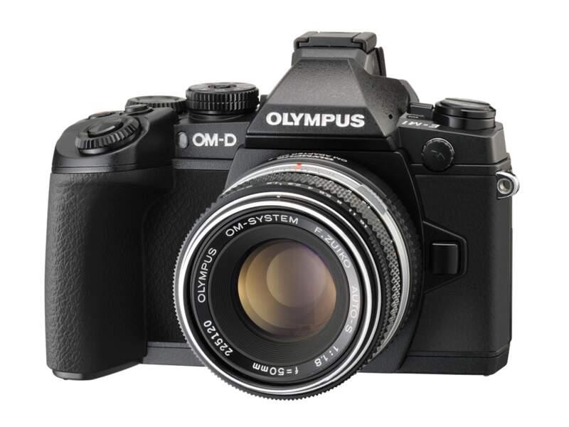 Le meilleur appareil photo hybride haut de gamme : Olympus OM-D E-M1