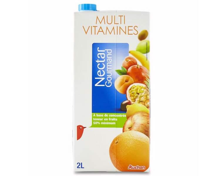 9 - AUCHAN Nectar gourmand Multivitamines
