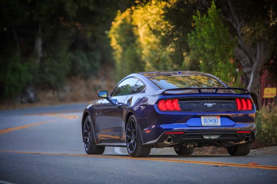 2018 : Ford Mustang Kona Blue