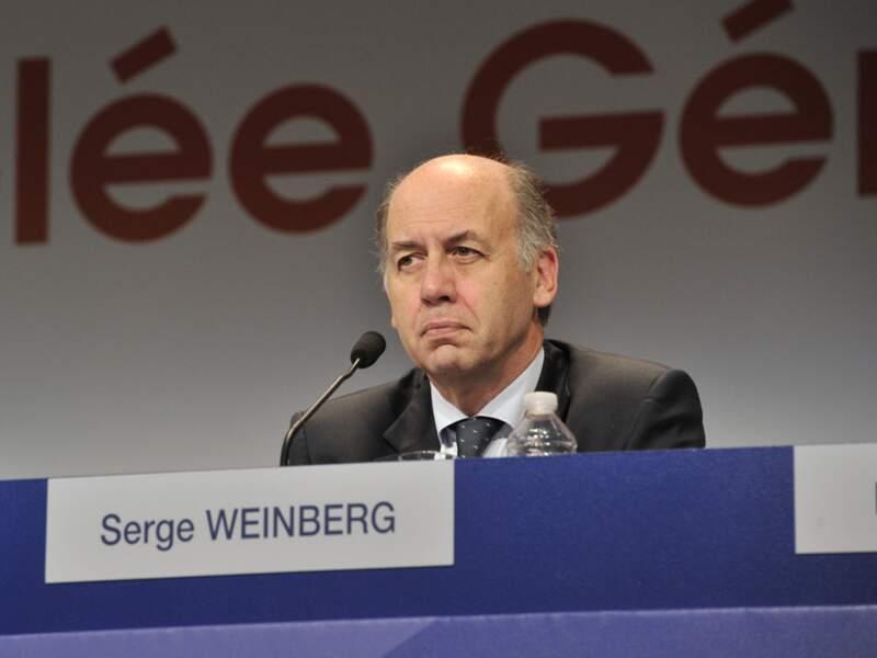 Le CV de Serge Weinberg, directeur général par intérim de Sanofi