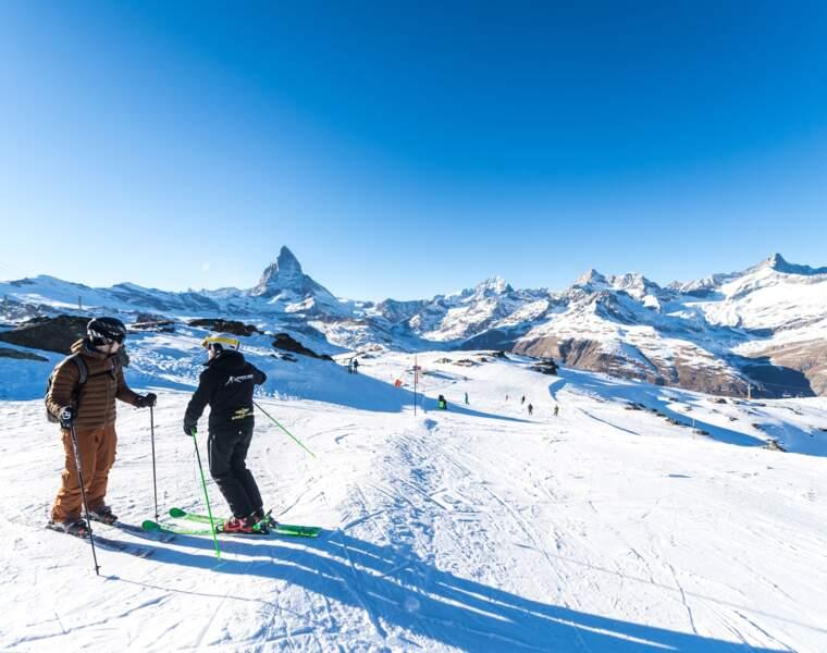 Zermatt : la glisse au sommet