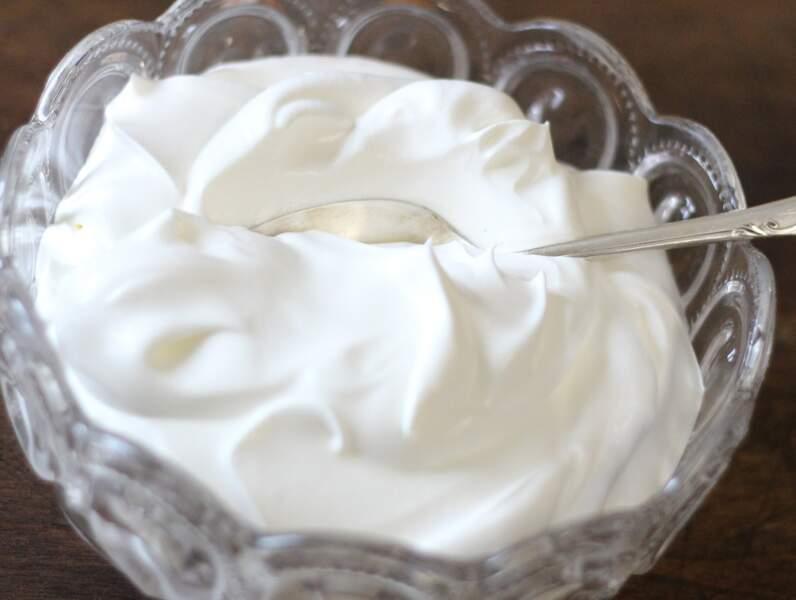 Desserts Lactés (cafés Liégeois…) et crèmes fraîches