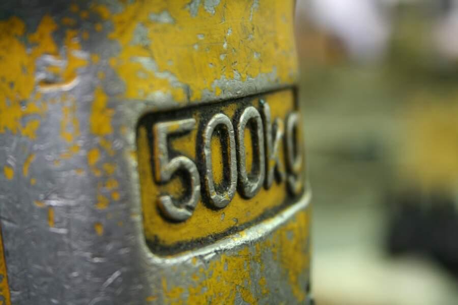 Un pied cube d'or pur pèse une demi-tonne