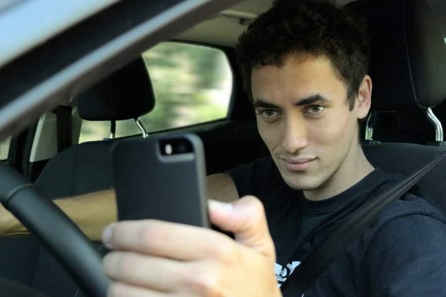 Usage du téléphone portable au volant