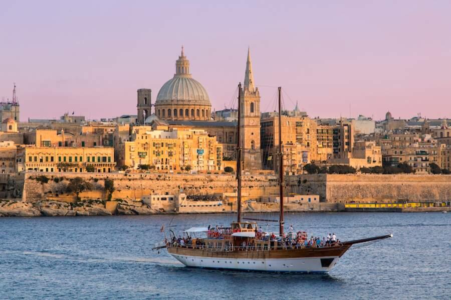 La Valette (Malte) : du soleil, du soleil, et encore du soleil