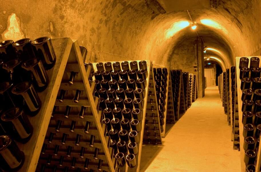 Les coteaux, maisons et caves de Champagne