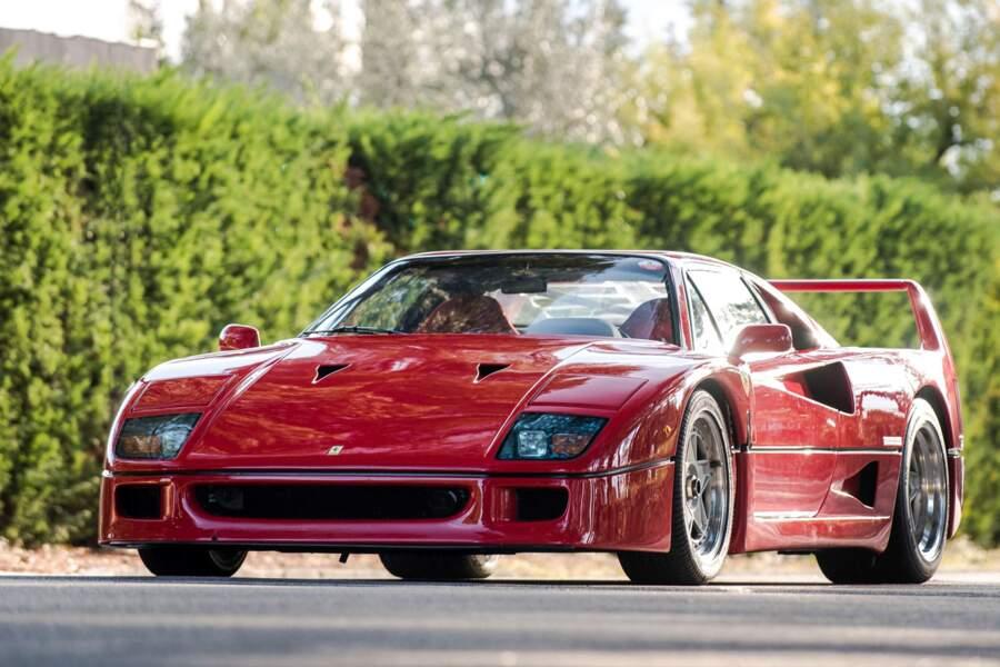 6. Ferrari F40 de 1990