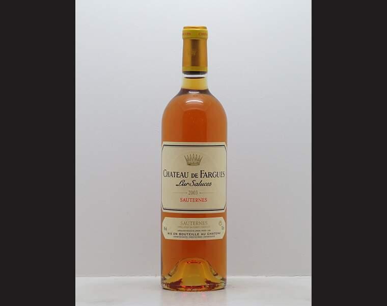 Sauternes Château de Fargues 2003