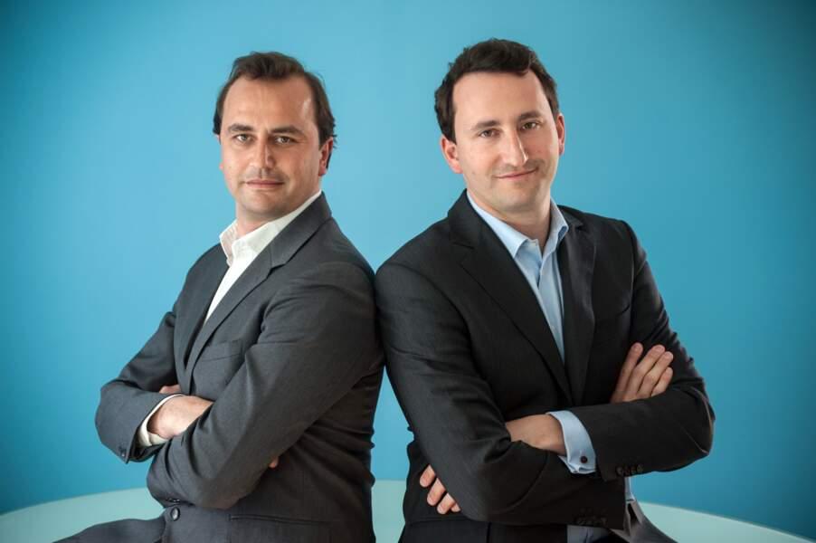 Édouard et Rodolphe Carle, 35 et 37 ans, fondateurs de Babilou : leur réseau de crèches ne cesse de s'étendre
