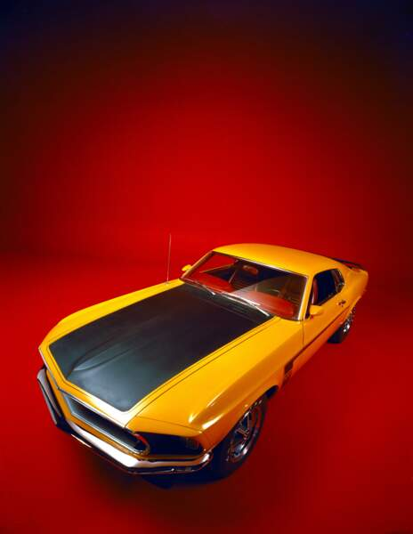 1969 : Ford Mustang Boss 302